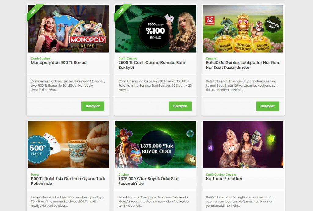 Casino Siteleri Kampanyalari